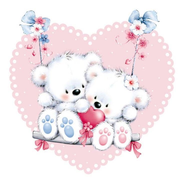 ❤️Hearts and Bears ~ Artist Marina Fedotova
