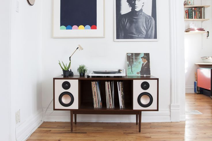 The HiFi Console is a Bluetooth enabled mid-century inspired stereo console. Created by Department Chicago https://www.kickstarter.com/projects/1240320326/the-modern-hifi-stereo-console/description