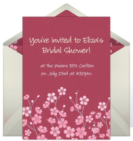 58 best images about bridal shower invitations on for Online wedding shower invitations