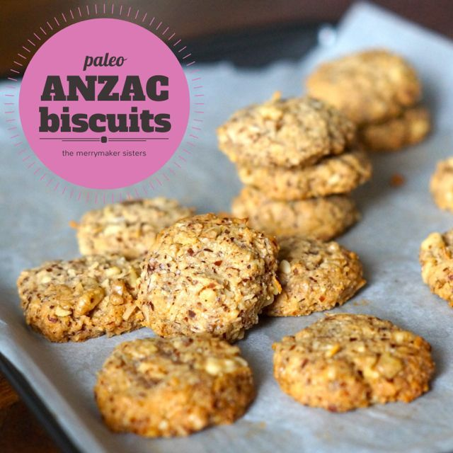 Easy Paleo ANZAC Biscuit Recipe