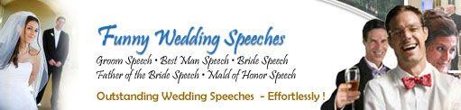 Funny Wedding Speech Resources