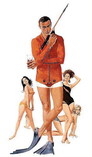 "Sean Connery as James Bond in Thunderball"":"