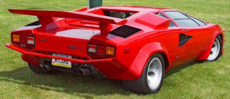 Lamborghini Countach Old School Love Sick Rides