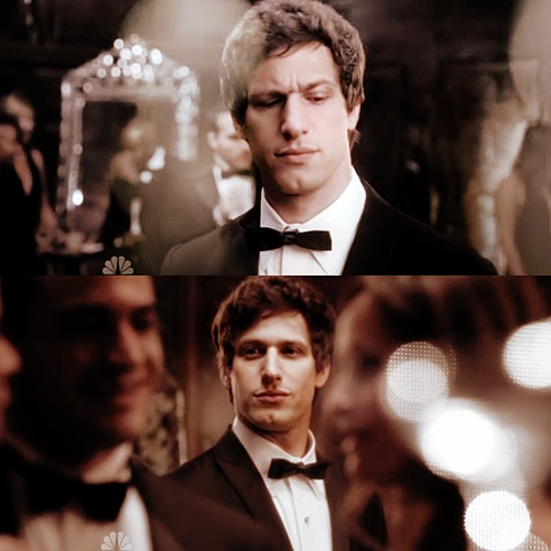 Andy Samberg. Being hilarious. A super pretty, all at the same time!  #stud