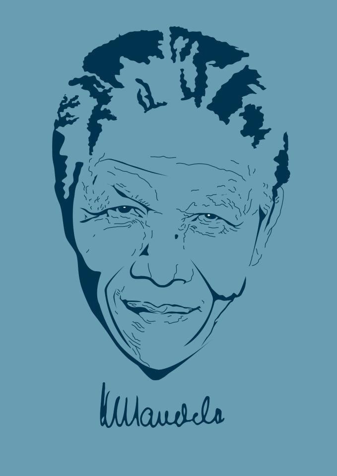 Ilustración Mandela
