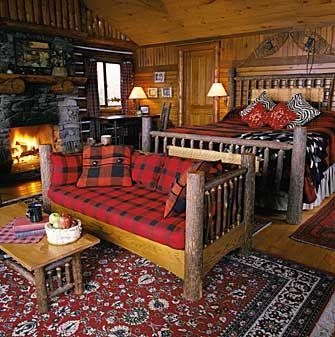 851 best adirondack style images on pinterest adirondack - Adirondack style bedroom furniture ...