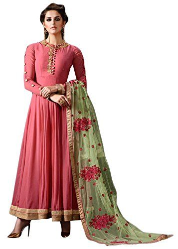 About the product There is no doubt in the fact that every girl around the planet strives hard to look good and stand out from the crowd. If you are someone who is seeking high quality and trendy semi stiched salwar suits for women, then this is an ideal product. Anarkali suits are made from high quality fabric and hence, will withstand years of use. Ethnic wear girls feature one of a kind and exquisite design that will definitely make you stand out from the crowd. Whether you are heading…