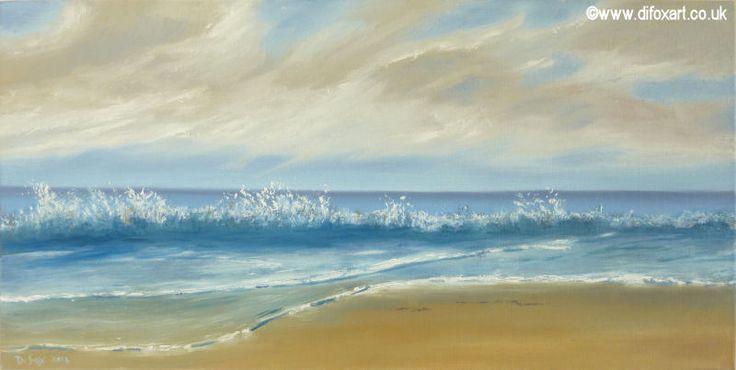 A breath of fresh air - painting by Di Fox
