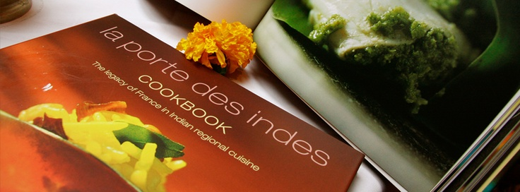 Attend the Indian Cooking class at the La Porte des Indes and get a signed copy of the La Porte des Indes cookbook.