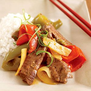 asian pepper steak: Sauci Slow, Sweet Peppers, Stir Fries, Chinese ...