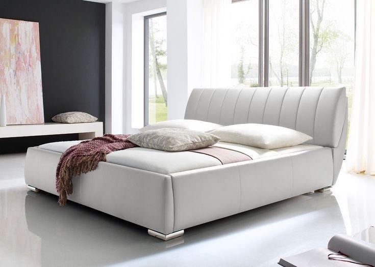 Die besten 25+ Polsterbett weiß Ideen auf Pinterest - schlafzimmer mit polsterbett