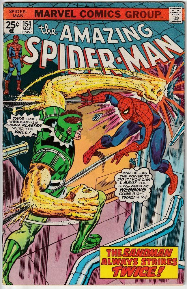 "The Amazing Spider-Man #154 - ""The Sandman Always Strikes ..."