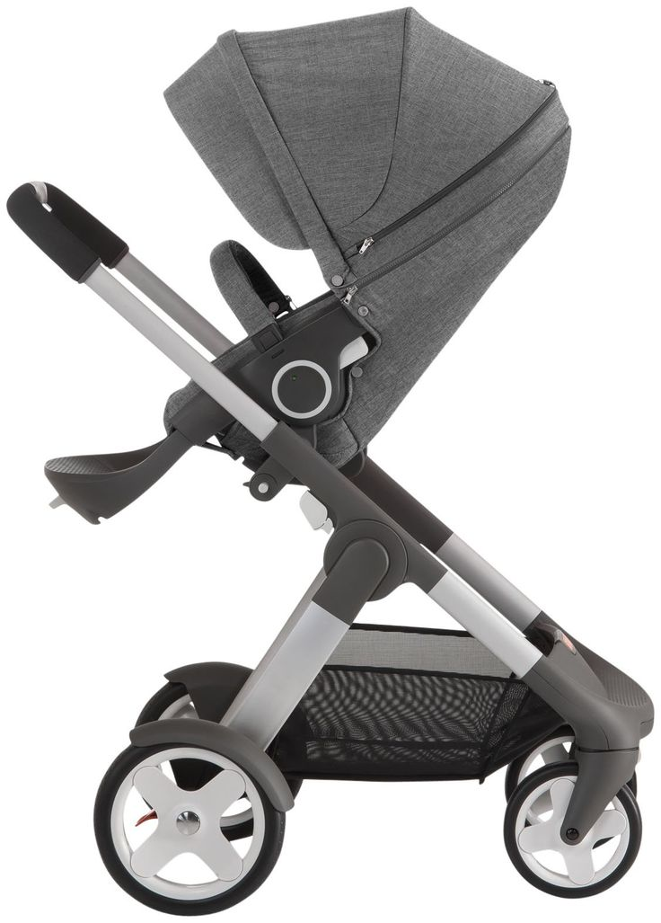 Stokke Crusi Stroller - Black Melange - Best Price