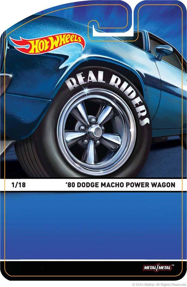 Realriders Hot Wheels Power Wagon Wheel
