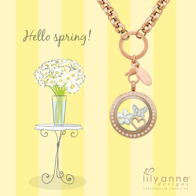Hello #Spring :) Hello #September! #LilyAnneDesigns #PersonalisedLockets #CapturingMoments #FreeToBeMe