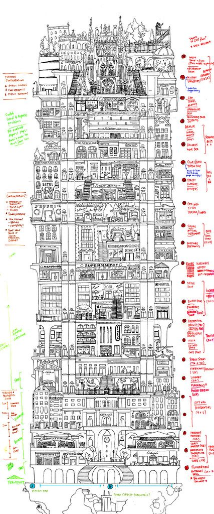 Vertical Cities by Allison Rae