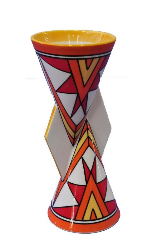 50 best clarice cliff images on pinterest for Mondrian vase