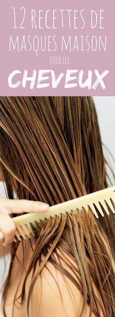 Aux oeufs, à l'avocat, au miel : 12 recettes de masques maison pour les cheveux !
