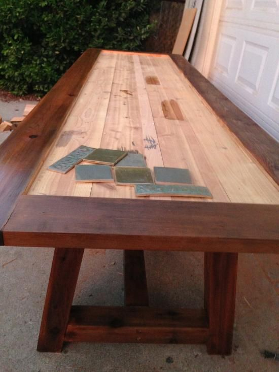 Reader Showcase: Tile Top Provence Dining Table | Tile ...