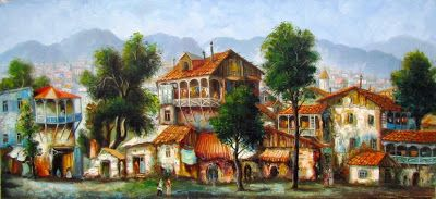 Художник Вахтанг Мартиашвили, Georgia, Old Tbilisi