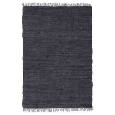 Network Flight Jasmine Hand Braided Navy Rug & Reviews | Temple & Webster