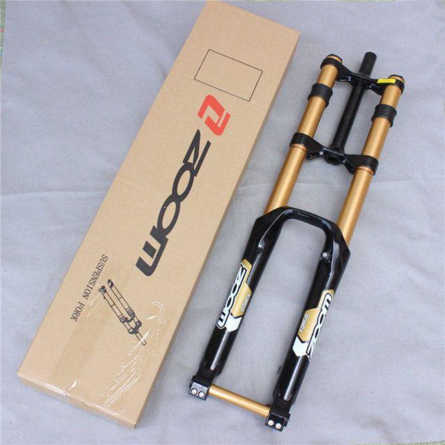 Zoom 26 Disc Brake 180mm 20mm Axle Downhill Mountain Bike Fork 1