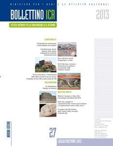 ISCR - Istituto Superiore per la Conservazione ed il Restauro - Progetti - Bollettino ICR 27 2013