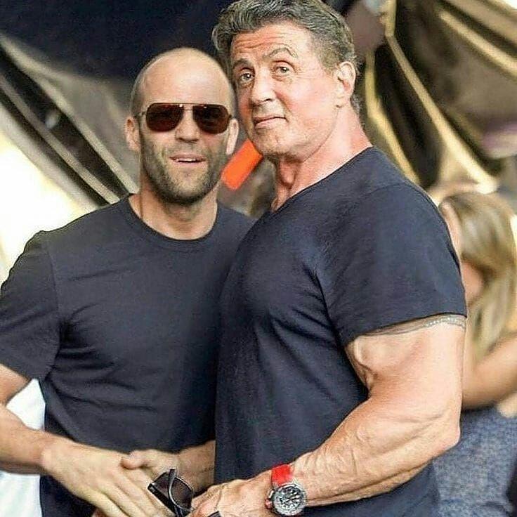 Two Mercenaries Rocky Rockybalboa Sylvesterstallone Jasonstathamfans Jasonstatham Cree Jason Statham Movies Sylvester Stallone Jason Statham