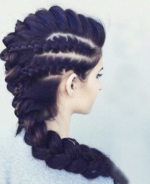 Try these elegant mohawk hairstyles for women in formal dos # this …