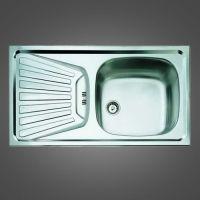 кухонные мойки с крылом, очень удобный вариант для кухни.