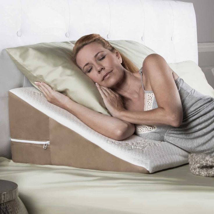 bed wedge pd pillow brookstone in