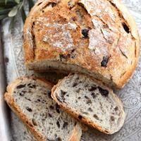 ψωμί με ελιές και κρεμμύδι