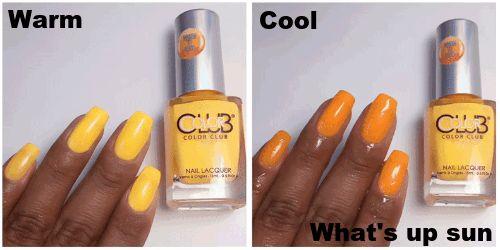 Color Club Heat Index Color Changing Mood Nail Polish