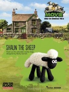 Shaun the Sheep - free pattern