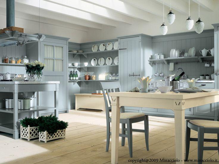 Cucina componibile in legno massello ENGLISH MOOD | Cucina in ...