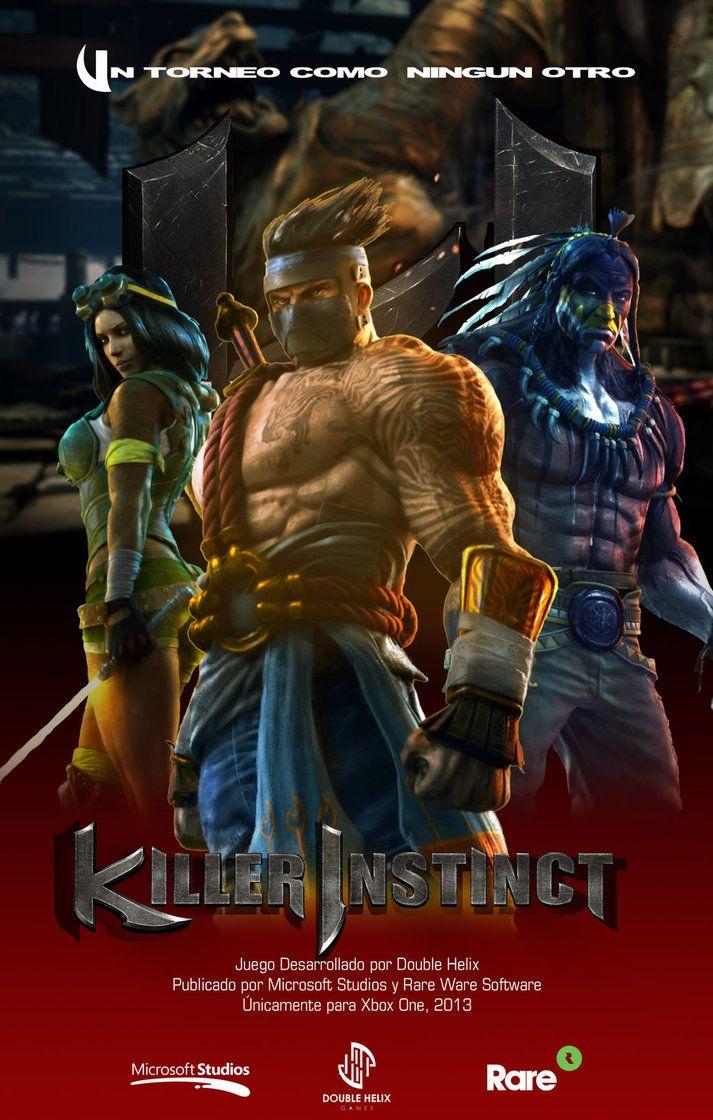 Killer Instinct 2014 | Killer Instinct Movie Poster by mrCh3p3