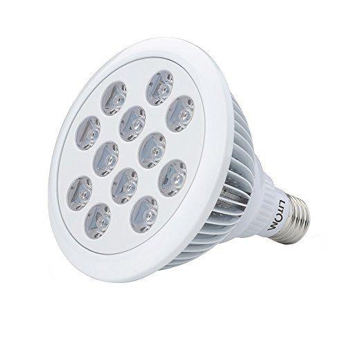 awesome Litom 36W 12 LEDs(3 Azu l& 9 Rojo) Luces para Plantas Iluminacion para Plantas Interior Luz de Platas crecimiento