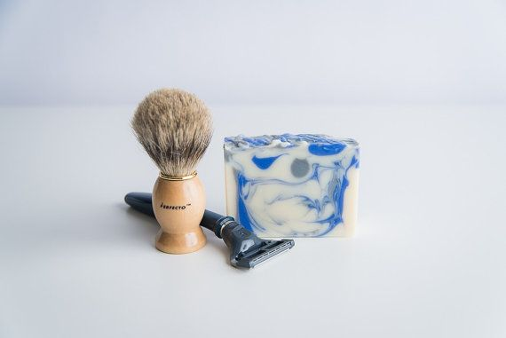 Shave and a Haircut Handcrafted Soap  For Men  Vegan Soap