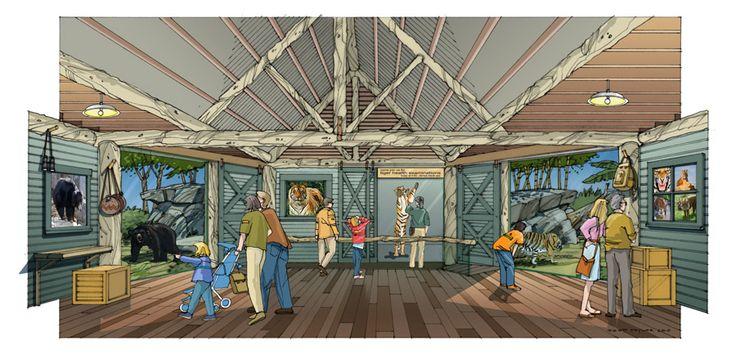 Woodland Park Zoo Conservation Action Center Concept