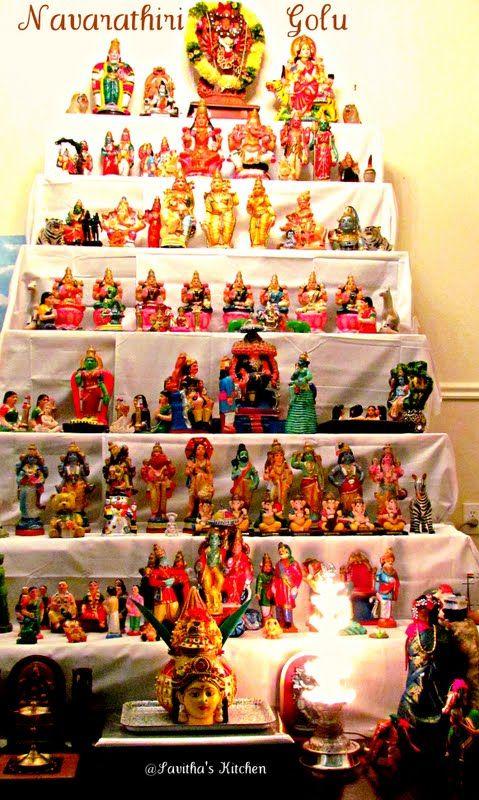 Savitha's Kitchen: Navarathri Golu - A detailed post about the custom of displaying dolls during Navarathri