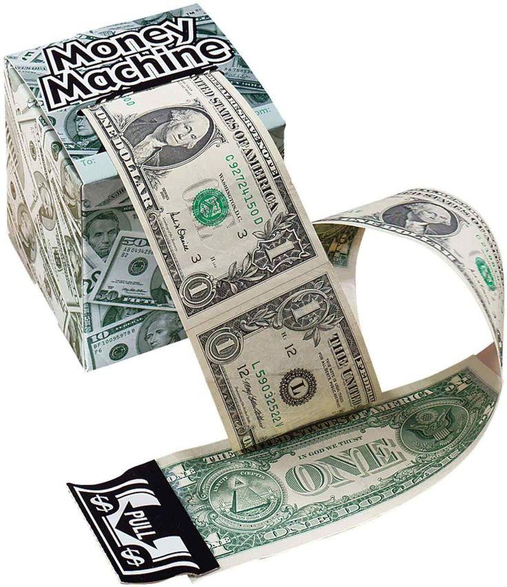 Miles kimball green money machine cash
