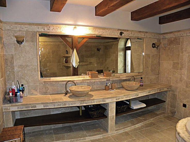 Kúpeľňa v Ivánke pri Dunaji z Travertínu Ivory a Classic  http://travert.sk/referencia/kupelna-v-ivanke-pri-dunaji-z-travertinu-ivory-a-classic