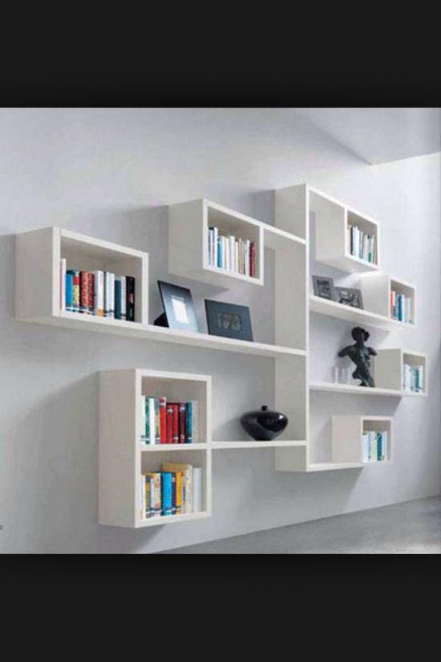 Superior Modern Wall Mounted Bookshelves: Terrific Moodern Bookshelf Ideas Modular Wall  Shelving Minimalist Bookshelf Creative Shelf Designs Interior Furniture ... Ideas