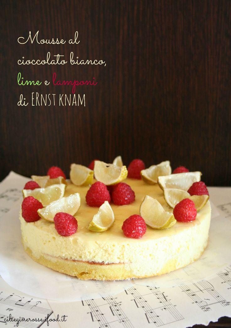 Mousse cioccolato bianco e lamponi (o fragole) per il Cakes Lab test & taste | Ciliegine Rosse