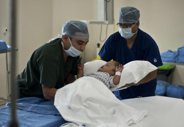 After yet another surgery doctors confirmed that the skull size of #baby Roona has been reduced.