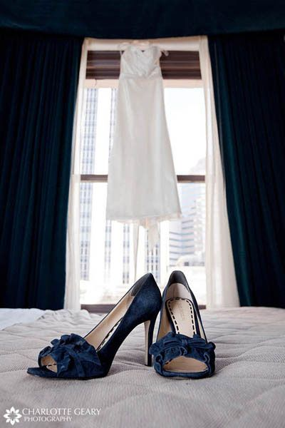 Like The Shoes And A Great Photo Navy Blue Wedding ShoesWedding