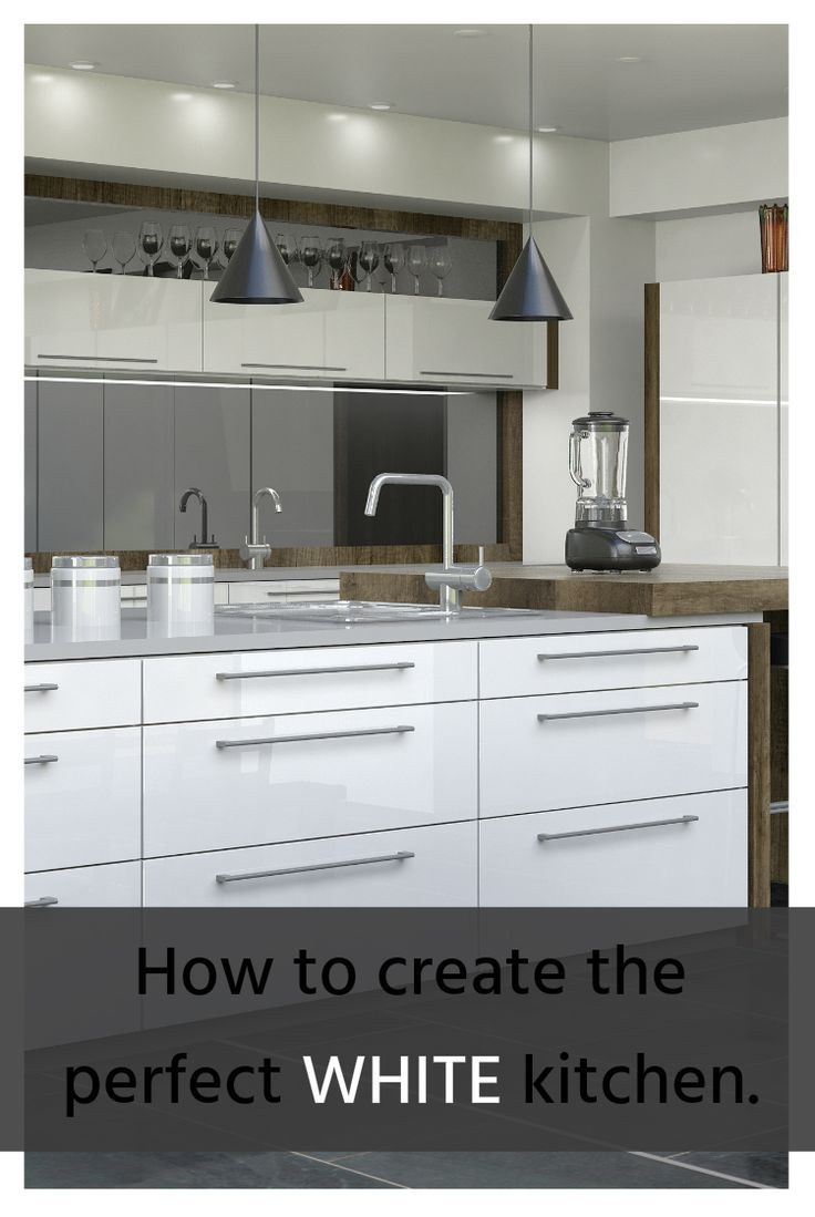 Very few things say class and sophistication like having a trendy white kitchen in your home where your family can get together. Here's how you can create the perfect white kitchen with MelaWood