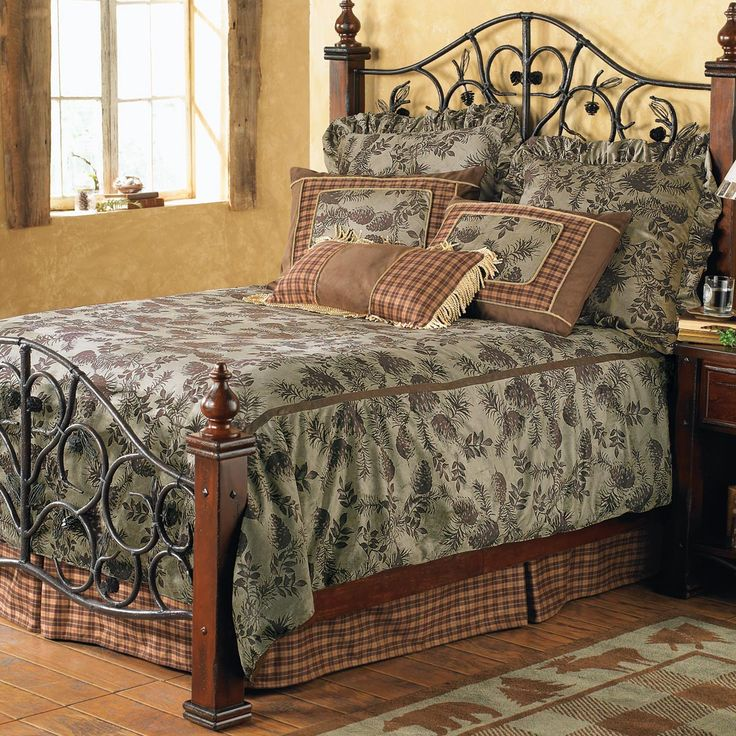 Pinecone Moss Bed Set Queen Clearance Bedrooms General Pinterest Bed Sets Beds And King