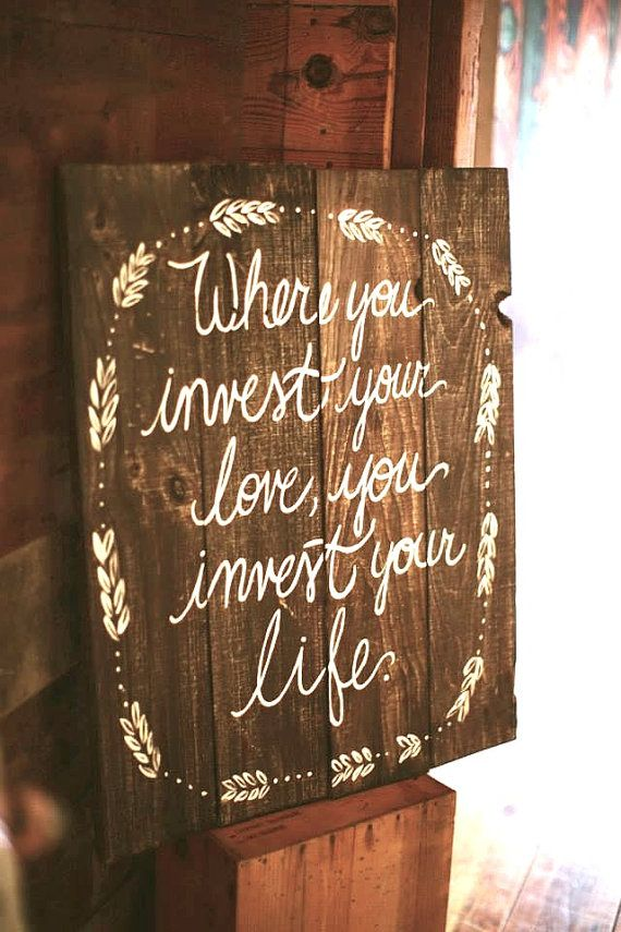 Rustic Wooden Wedding Sign - XL Sign - Personalized for You