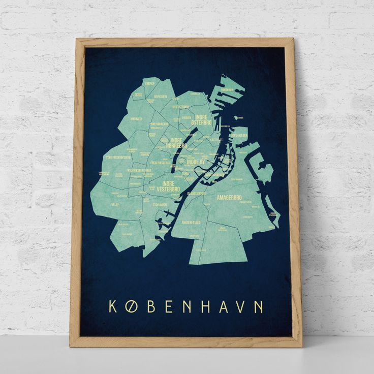København Map - Night from KLAM. My next buy.